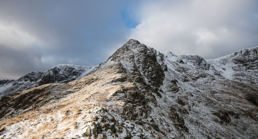Nethermost Pike viewed from Eagle Crag