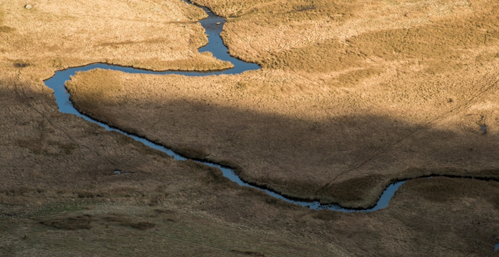 Bannerdale Beck in the late afternoon sun