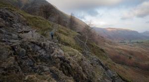 Heading up towards Sty Head Tarn from Seathwaite