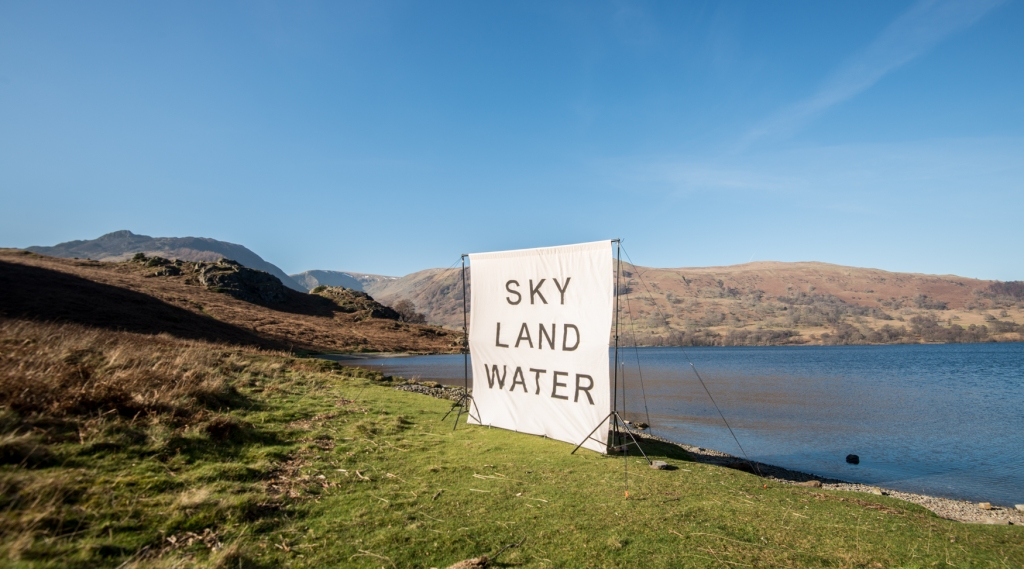 Sky Land Water in place