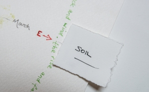 Sense of Here - map detail March Soil