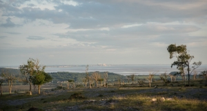 fading light out on Morecambe Bay