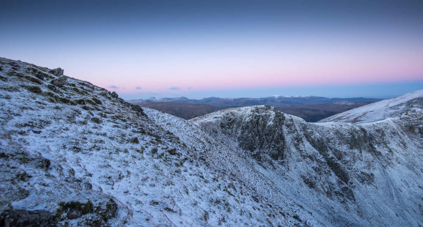 Before dawn from Dollywaggon Pike